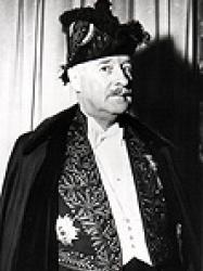 André François-Poncet en habit d'académicien