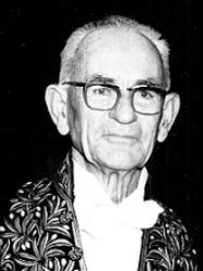Louis Leprince-Ringuet en habit d'académicien