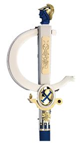 Épée de prince Gabriel de BROGLIE