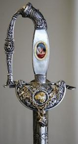 Épée de M. Jean-Loup DABADIE