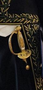 Épée de M. Max GALLO