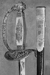Épée de M. Georges VEDEL