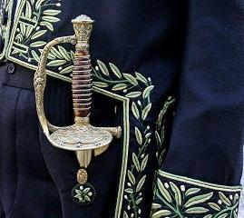 Épée de M. Michael EDWARDS