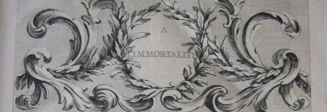 bandeau de la quatrième édition du Dictionnaire