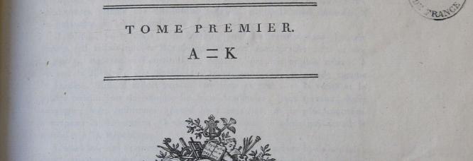 Cinquième édition du Dictionnaire