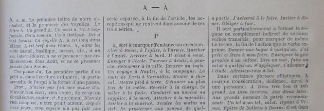 7e édition du Dictionnaire