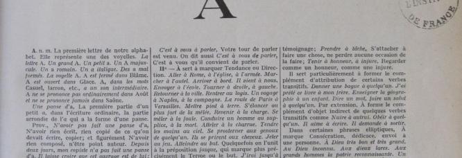 8e édition du Dictionnaire