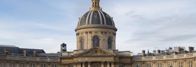 Façade de l'Académie française