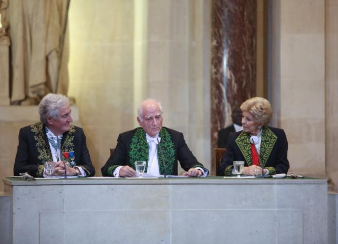 Michel Serres, séance publique annuelle, 2012