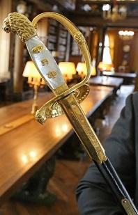 Épée de Marc Lambron
