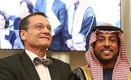 représentants de l'alliance française d'Abu-Dhabi 2016