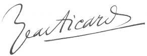 Signature de Jean Aicard