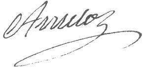 Signature de Jean-Jacques Amelot de Chaillou