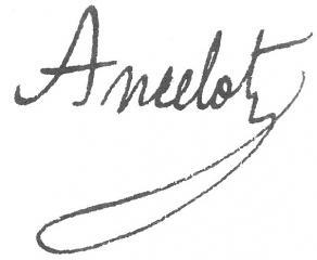 Signature de Jacques-François Ancelot