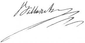 Signature de Pierre-Simon Ballanche