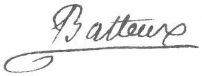 Signature de Charles Batteux