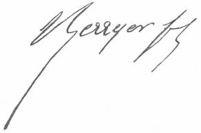 Signature de Pierre-Antoine Berryer