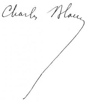 Signature de Charles Blanc