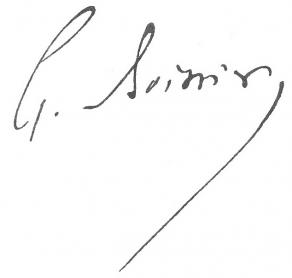 Signature de Gaston Boissier