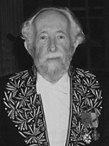 Jacques de Bourbon Busset en habit d'académicien
