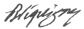 Signature de Louis-Georges de Bréquigny