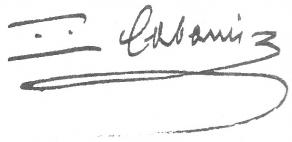 Signature de Pierre-Jean-Georges Cabanis