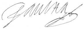 Signature de Paul Hay du Chastelet