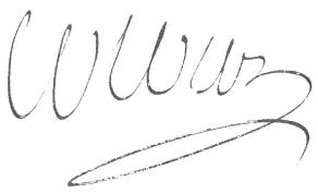 Signature de Jean-Baptiste Colbert