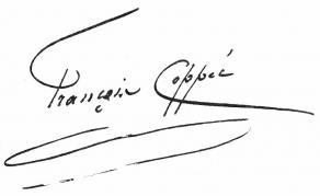 Signature de François Coppée