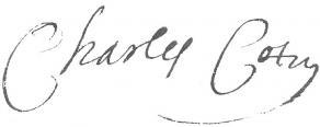Signature de Charles Cotin