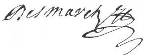 Signature de Jean Desmarets de Saint-Sorlin