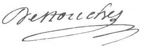 Signature de Philippe Néricault Destouches