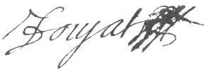 Signature de Jean Doujat