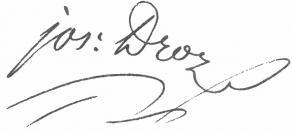 Signature de François-Xavier-Joseph Droz