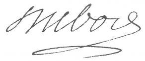 Signature de Guillaume Dubois