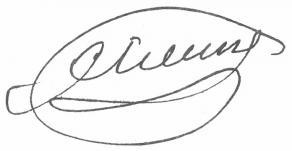 Signature de Charles-Guillaume Étienne