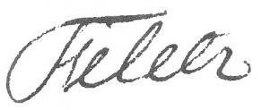Signature de Charles-Marie-Dorimont de Féletz
