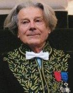 Dominique Fernandez en habit d'académicien