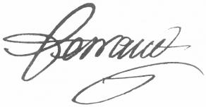 Signature d'Antoine-François-Claude Ferrand