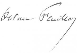 Signature d'Octave Feuillet