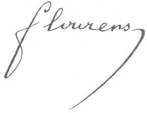 Signature de Marie-Jean-Pierre Flourens
