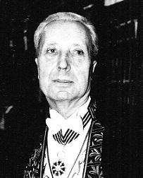 Marc Fumaroli en habit d'académicien©Jean-Christophe Marmara 1996