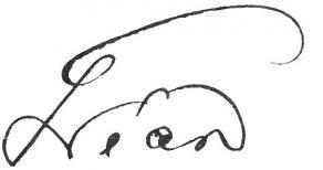Signature d'Octave Gréard