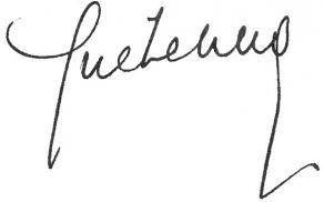Signature de Jean Guéhenno
