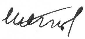 Signature de Édouard Herriot