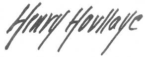 Signature d'Henry Houssaye