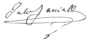 Signature de Jules Janin