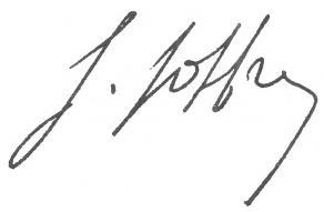 Signature du maréchal Joffre