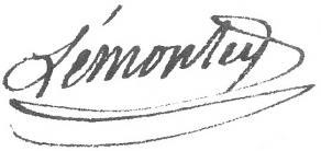 Signature de Pierre-Édouard Lémontey