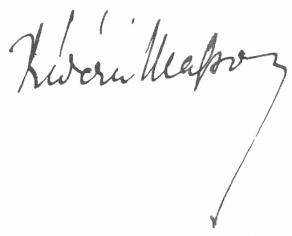 Signature de Frédéric Masson